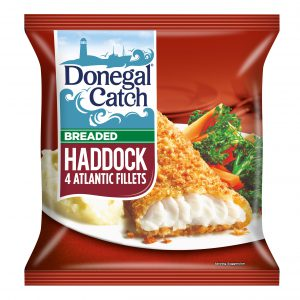4 Atlantic Haddock Fillets 450g 5011003038155