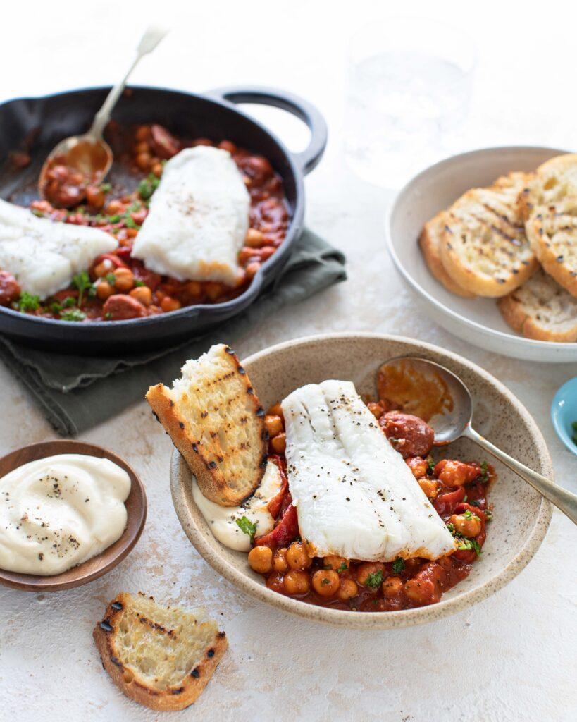 Donegal Catch Cod & Chorizo Stew with Aioli