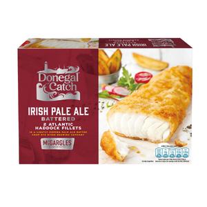2 Donegal Catch Irish Cider Battered Atlantic Haddock Fillets