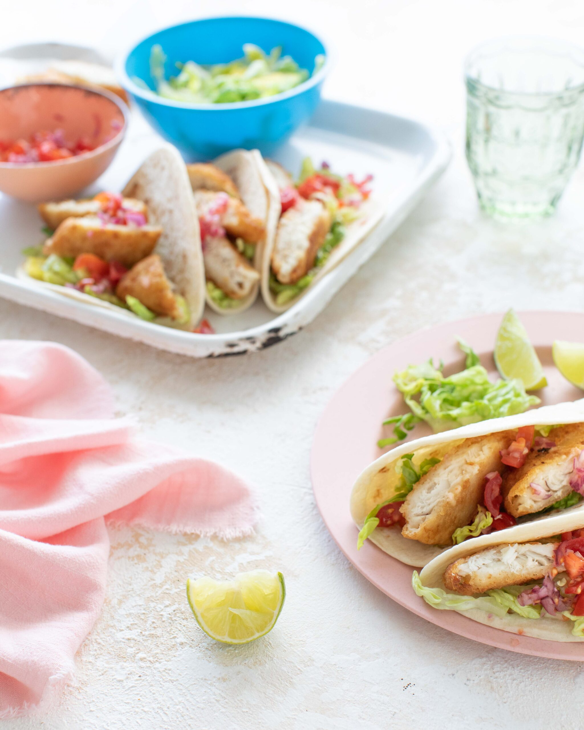 Irish pale ale battered cod tacos from Donegal catch